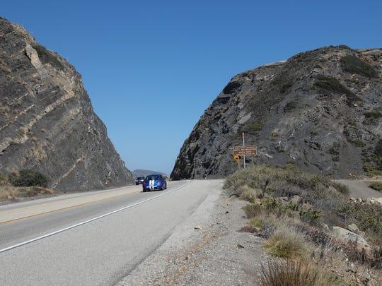 STAR FILE PHOTO Pacific Coast Highway at Mugu Rock in Ventura County.