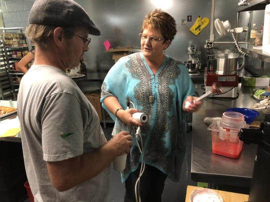 Rhonda Pearcy works with many community members, such