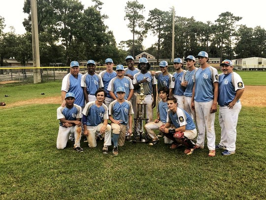 Post 13's 17U team won a state championship during
