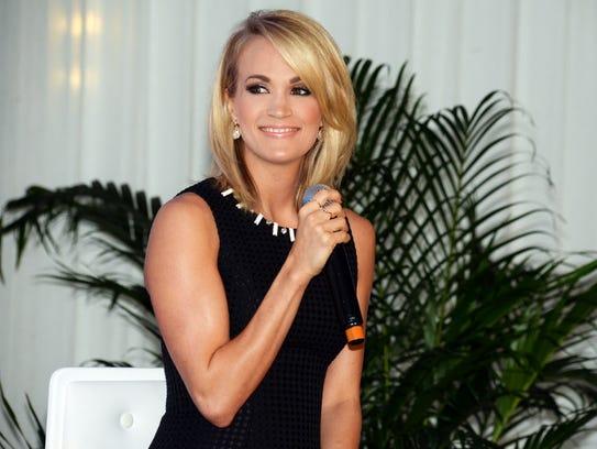 "Carrie Underwood's well-reviewed ""Storyteller"" album"
