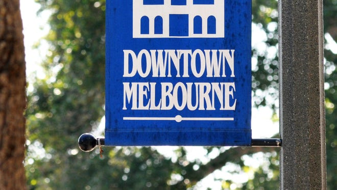 Historic downtown Melbourne.