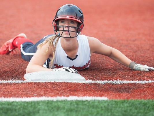 Varsity Girls' Softball:  Washington Township vs. Hunterdon Cent