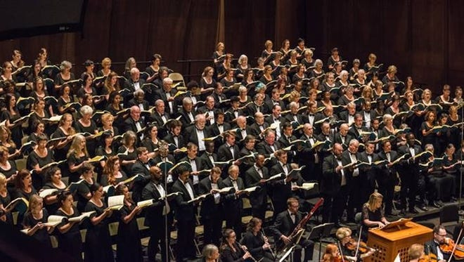 """Tallahassee Community Chorus performed """"An Evening of Bach"""" on Sunday, April 30."""