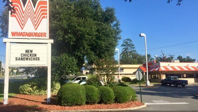 The Whataburger on Apalachee Parkway in Tallahassee.