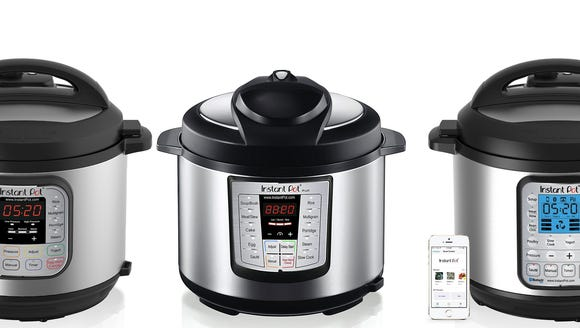 The Instant Pot line of multicookers.