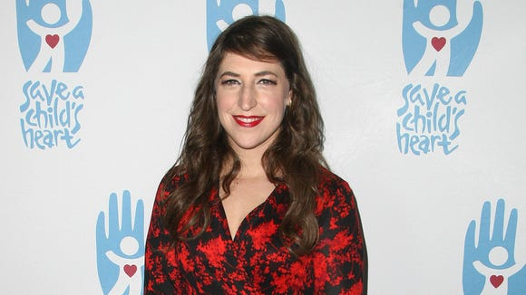 Mayim Bialik opens up to fight a break in the holidays.
