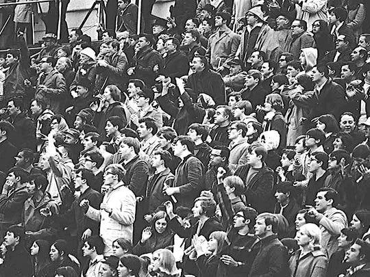 Vineland vs. Millville, November 1968 football game.