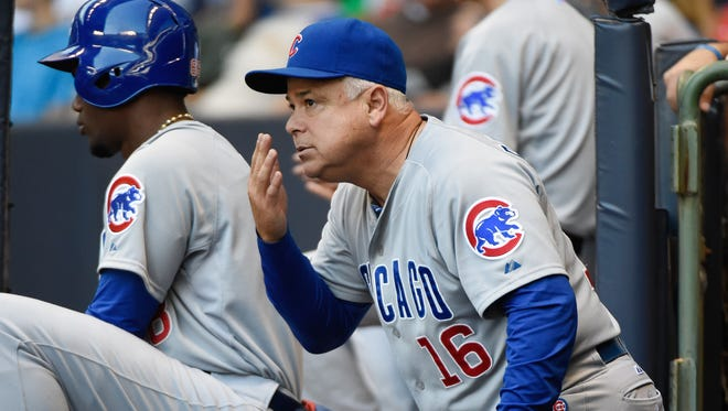 Rick Renteria lasted just one season with the Chicago Cubs.