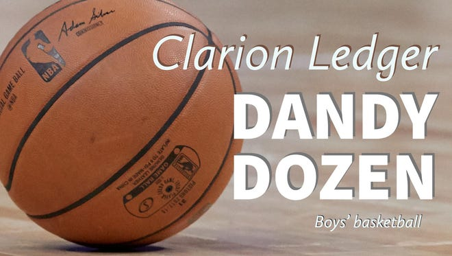 2017-18 Clarion Ledger boys' basketball Dandy Dozen
