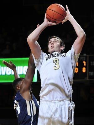 Vanderbilt forward Luke Kornet and the Commodores will face plenty of NCAA Tournament teams in 2015-16.