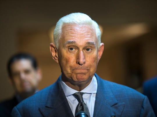 Roger Stone, an associate of President Donald Trump,