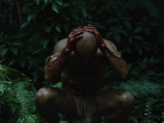 """A screenshot from the opening scene of """"I Matai,"""" a film about an ancient Chamorro ceremony, created by local film collective Mighty Island. The film will be shown on Saturday, Sept. 16 at the opening of the 10th Guam Art eXhibit. The film will be will be showing throughout the first week of GAX."""