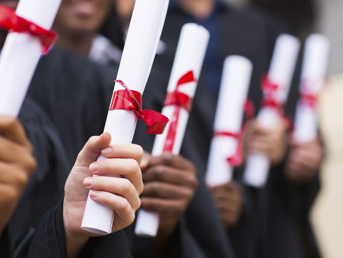 The following high schools had the highest graduation