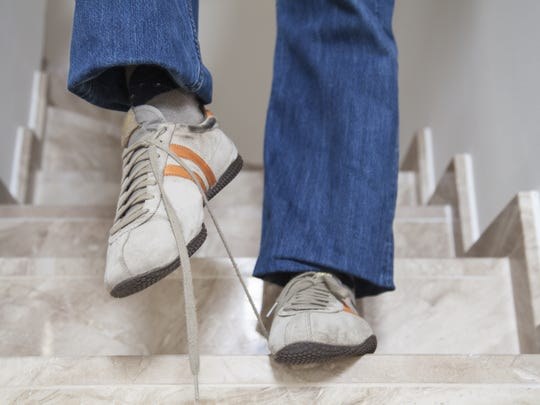 There are many steps you can take to prevent falls. Don't forget to tie your shoes!
