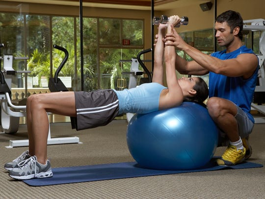 If going to the gym and starting a new exercise routine sounds daunting, consider working with a personal trainer.
