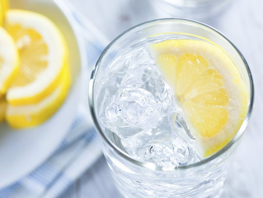 Make water more appealing with a little lemon or lime.