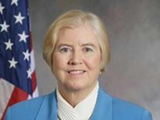 U.S. Rep. Candice Miller, who is running for Macomb
