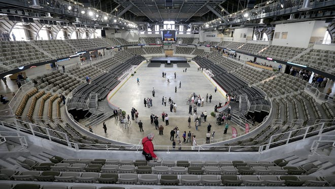 The Indiana State Fairground Coliseum reopens April 24, 2014, after a historic $63 million renovation.