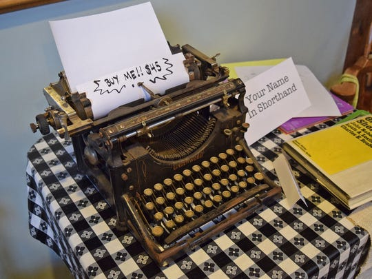 Go analog at the Salem Type-In 2016 where you can browse typewriters, meet avid type fans and get your type on Saturday, June 25, at Willamette Heritage Center, 1313 Mill St. SE.