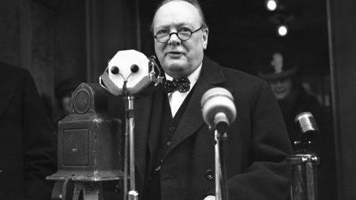 Winston Churchill was known to quietly sob in carefully hidden moments, demonstrating the value of embracing one's emotions at times of stress.