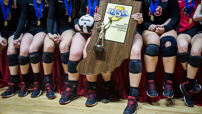Wapahani defeated Covenant to take the state title  at Worthen Arena Saturday, Nov. 5, 2016.