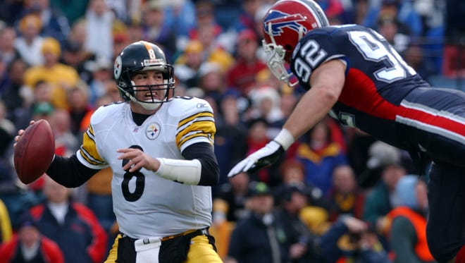 Tommy Maddox started in place of Ben Roethlisberger, and the Steelers still managed to beat the Bills on the final day of the 2004 season.
