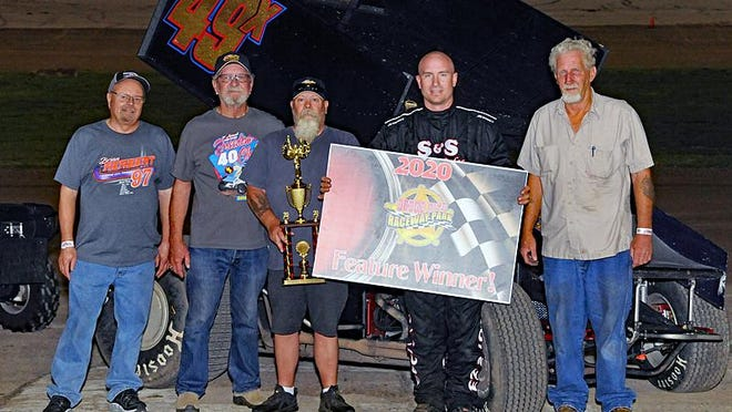 Luke Cranston earns DCRP Sprint Win over the weekend at Dodge City Raceway Park.