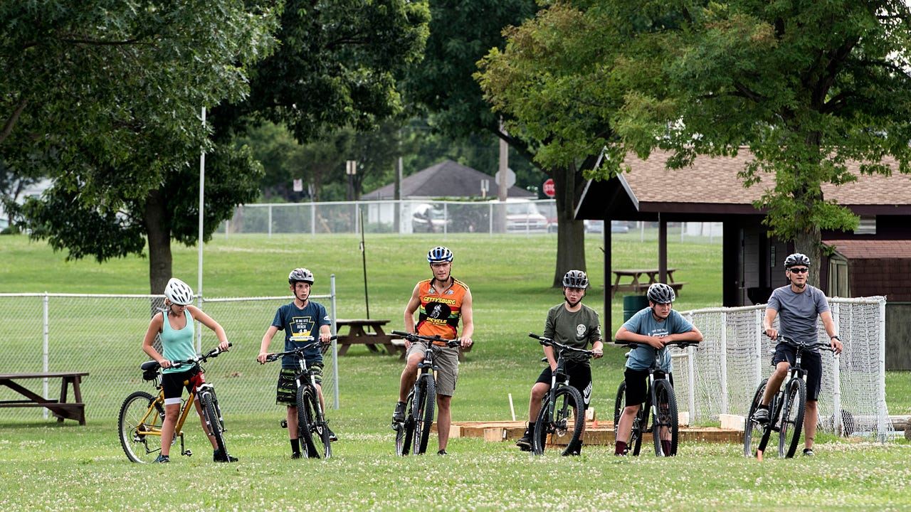 After being one of 19 inagural teams in the Pennsylvania league last year, head coach Mike Keefer is looking forward to a successful year with his mountain bike racing team, which has grown to six riders.