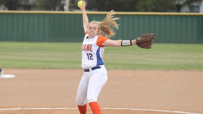 San Angelo Central High School pitcher Baylee Fulps has three more years of eligibility with the Lady Cats. Fellow pitcher Ashton McMillan is also just a freshman. The Lady Cats got swept by South Grand Prairie in a Class 6A Region I bidistrict series Saturday in Abilene.