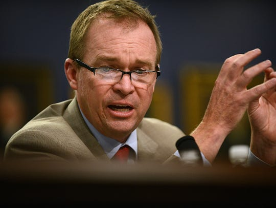 Office of Management and Budget Director Mulvaney and