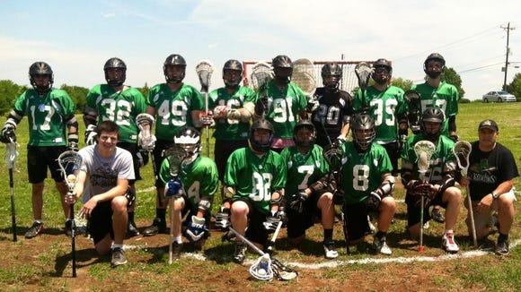 The Carolina Gladiators lacrosse team.