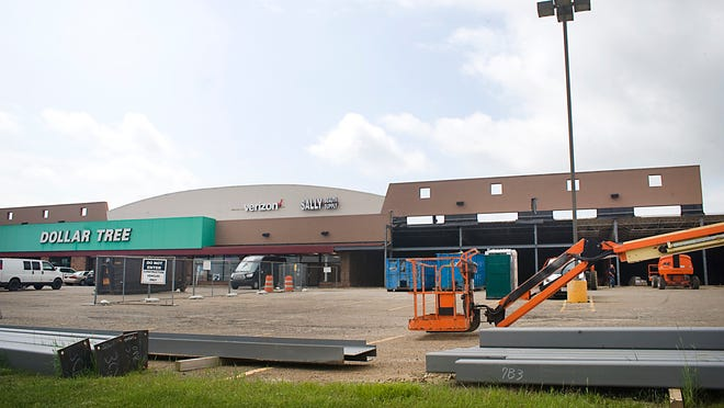 TJ Maxx has announced a March 2021 date for its new store in West State Square plaza in Alliance. The site was under construction in this June 2020 photo.