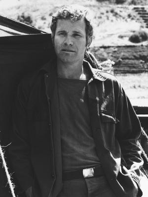 """In this photo provided by CBS, Wayne Rogers poses for a photo in his character of Trapper John McIntyre from the television series """"M*A*S*H."""""""