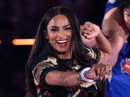 Ciara performs onstage at the Nickelodeon Kids' Choice Sports Awards 2015 at UCLA's Pauley Pavilion on July 16, 2015 in Westwood, Calif.