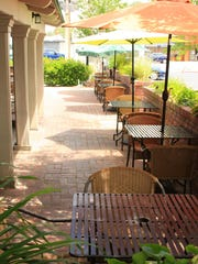 The terrace at Rapscallion Seafood House & Bar, site of RENO Magazine's June 5 oyster bash, looks onto a vibrant stretch of the Wells Avenue District.