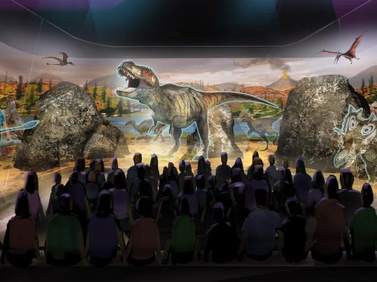 Dinosaur Holograms