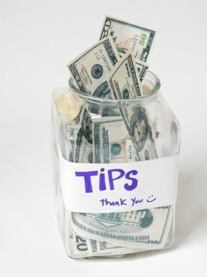 Tip jars can present a quandary.