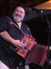 Grammy winner Wayne Toups performs at Le Festival de Mardi Gras a' Lafayette this weekend at Cajun Field.