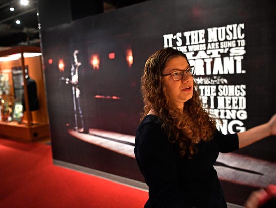 Touring the Country Music Hall of Fame and Museum,