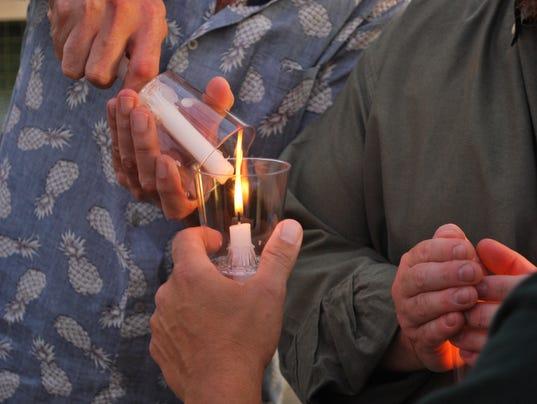 United with Orlando, candlelighting