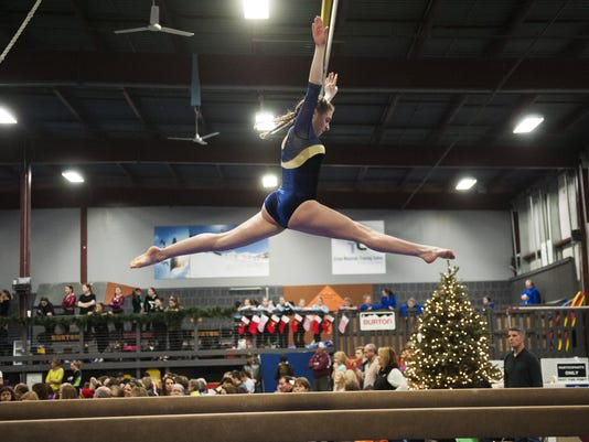 Rebel Invitational Gymnastics Meet 12/ 12/15