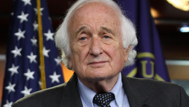 Rep. Sander Levin, D-Mich., on Capitol Hill in Washington, Tuesday, June 16, 2015.