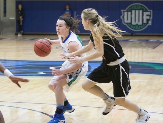 Quick halftime, fast finish for No. 20-ranked UWF women