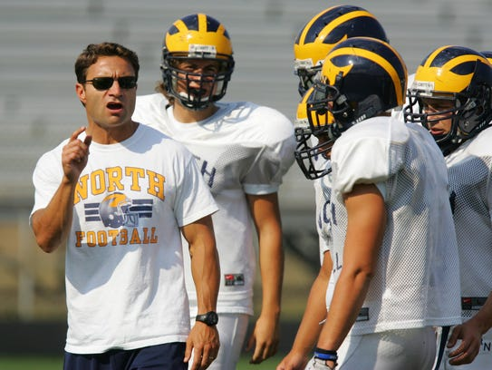 Chip LaBarca Jr., shown coaching at Toms River North