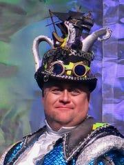 Krewe Centaur Captain 16 Brian Hammons waits for the