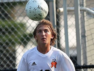 Mamaroneck's Alex Alma is the boys soccer Player of the Week for Oct. 5-Oct. 11.