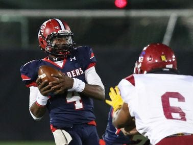 Stepinac quarterback Tyquell Fields won't be 100 percent for Saturday's CHSAA state championship game after suffering an injured ankle in the victory over Cardinal Hayes in the CHSFL AAA championship.