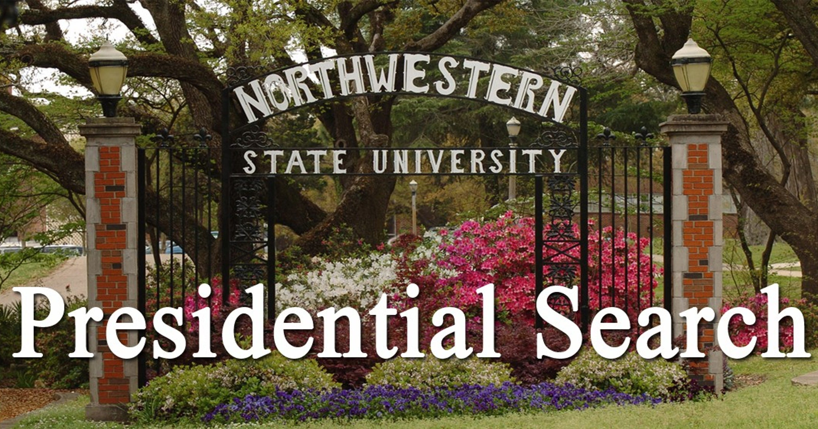 Nine candidates recommended for NSU president