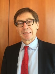 """German Ambassador to Washington Peter Wittig says corruption should be Ukraine's top priority. """"If corruption is not tackled, European and western investors will not go to Ukraine,"""" Wittig told USA TODAY in an exclusive interview in his office Feb. 18, 2016.  Oren Dorell, USA TODAY"""