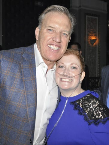 Kimberly Ringen and husband Davin met with Broncos